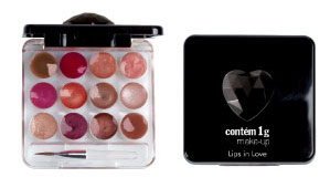 Palette Lips in Love Contém 1g