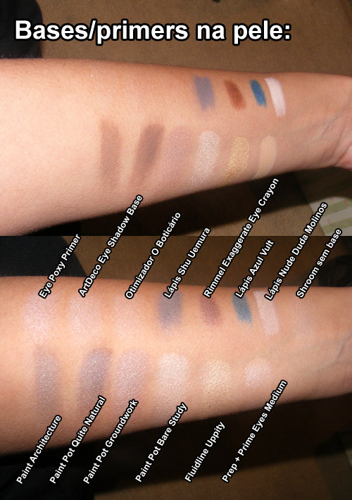 Bases/Primers Para Sombras