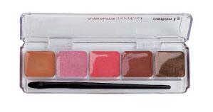 Gloss Palette Incrível - Brilho labial em creme Contém 1g