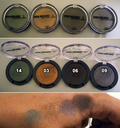 Sombras Duda Molinos make-up studio