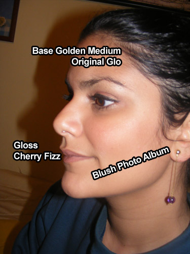 Resenha: Blush Photo Album e Base Golden Medium Original Glo (Everyday Minerals)