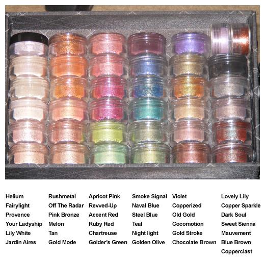 Sombras e Pigmentos MAC