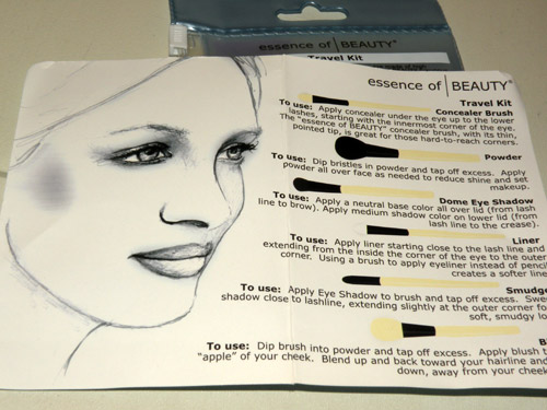 Essence of Beauty Travel Kit