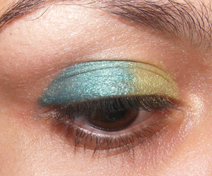 Tutorial: Suedette: 6 Intense Eyes + Pigmentos Teal e Chartreuse