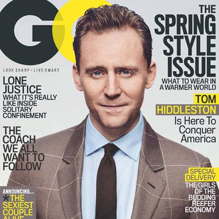Ô, lá em casa… Tom Hiddleston
