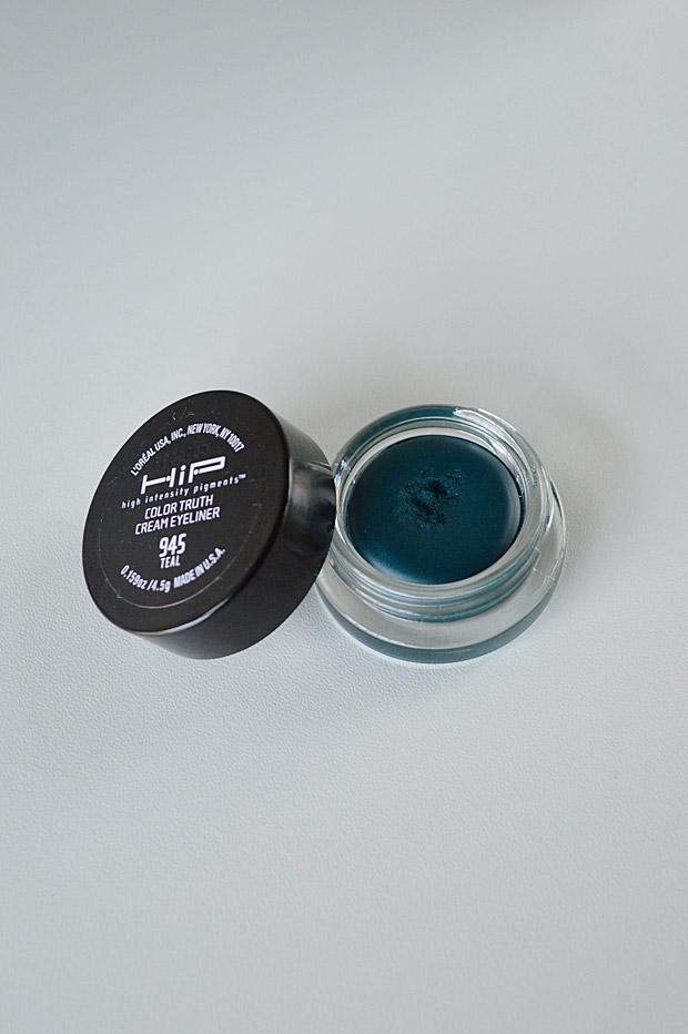 CGPU: L'Oréal HiP Color Truth Cream Eyeliner (#945 Teal)