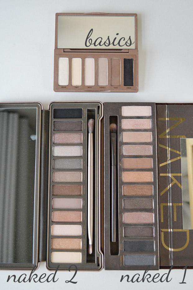 Comparação: Naked 1 x Naked 2 x Naked Basics