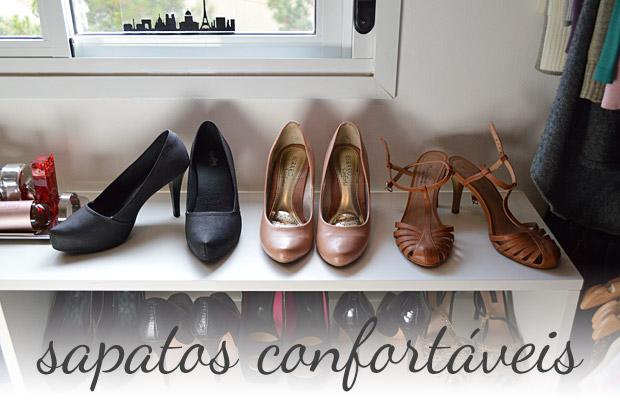 Não é make, mas é demais: Sapatos com saltos confortáveis pra balada
