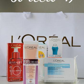 Sorteio Patrocinado: L'Oréal Paris