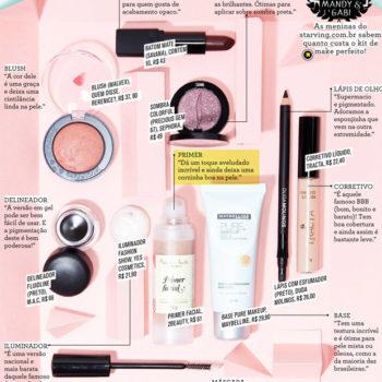 Primer Facial Marina Smith na Revista Gloss