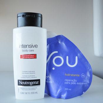 Hidratantes Para Pele Seca: Natura, Neutrogena e Cetaphil