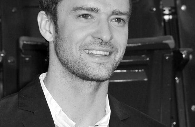 Ô, lá em casa… Justin Timberlake