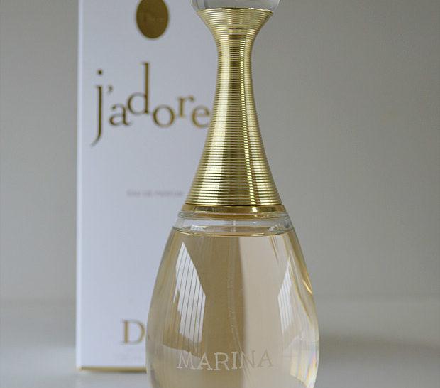 Perfume J'adore Dior Personalizado *