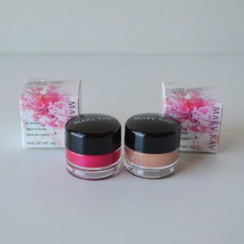 Boca Colorida: Brilho Labial Zen in Bloom Mary Kay (Pink Pagoda e Chai Latte)