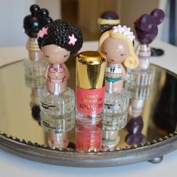 Quarta do Esmalte: Esmalte Fortalecedor Pink Granado cor Anita