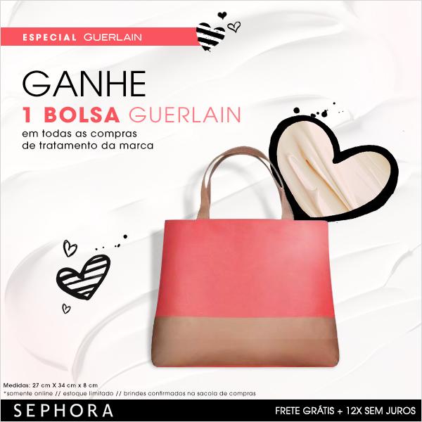 Brinde fofo da Guerlain em qualquer compra de tratamento da marca *