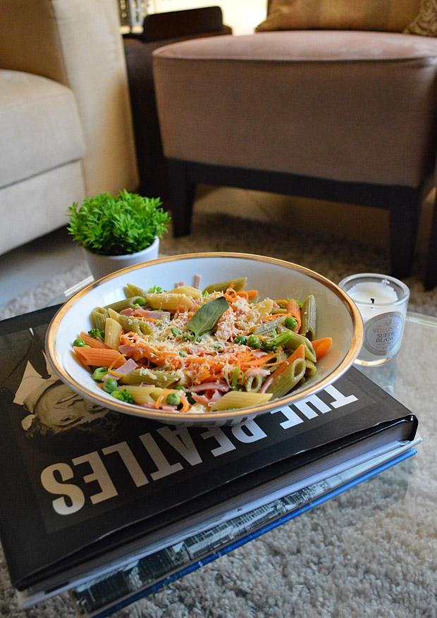 Cozinha Tosca de Marina: Penne Tricolor