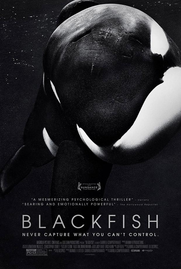 Não é make, mas é demais: Blackfish