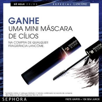 Especial do Dia: Perfumes Lancôme com Brinde *
