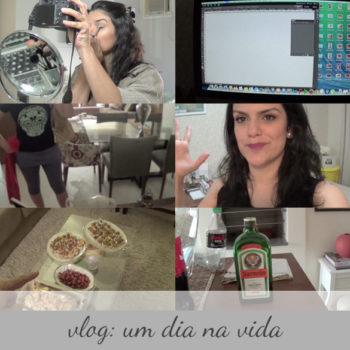 Vlog: Um dia na vida (abril 2014)