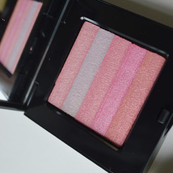 Amostrinhas: Bobbi Brown Shimmer Brick Compact Lilac Rose
