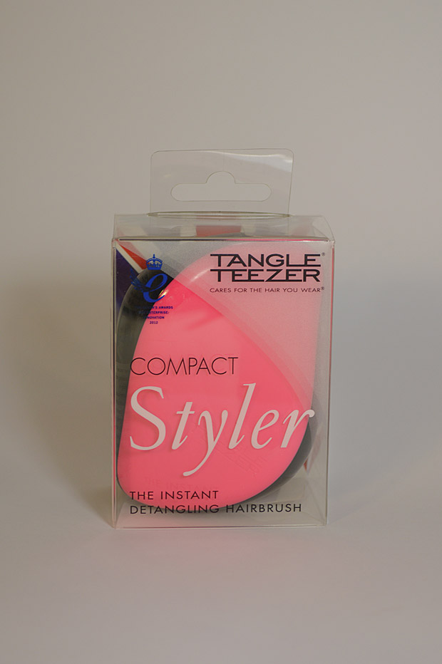 Cabelo: Escova Compact Styler Pink Sizzle Tangle Teezer