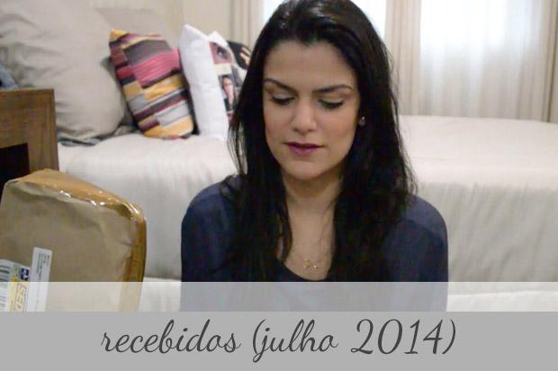 Vídeo: Recebidos (julho 2014)