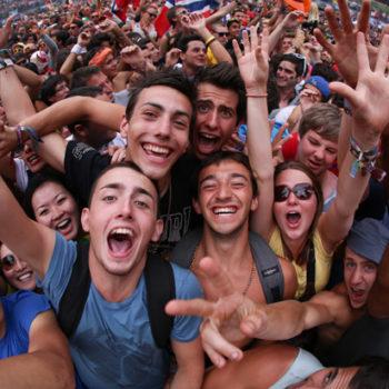 Publi: Transmissão do Festival Tomorrowland