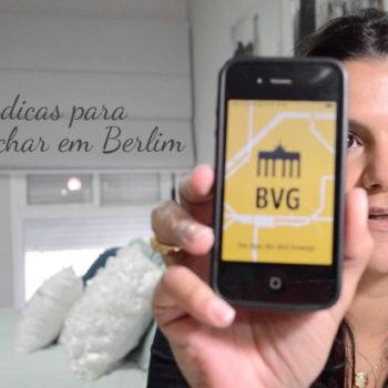 Vídeo: Duas dicas rápidas para se achar em Berlim