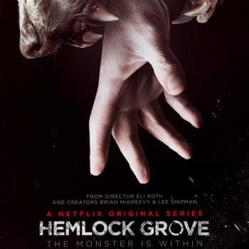 Não é make, mas é demais: Hemlock Grove