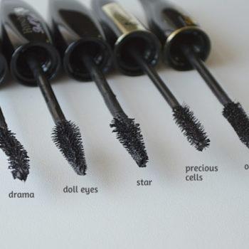Comparação: Lancôme Hypnôse Original x Drama x Doll Eyes x Star x Precious Cells *