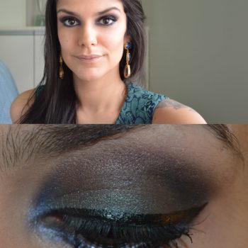 Tutorial: Azul + Verde Escuro com a Smoked Palette