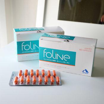 Publi: Experimentando Foline para fortalecer os cabelos