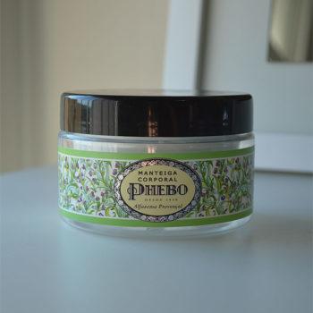 Produtos e Cuidados com a Pele: Manteiga Corporal Alfazema Provençal Phebo