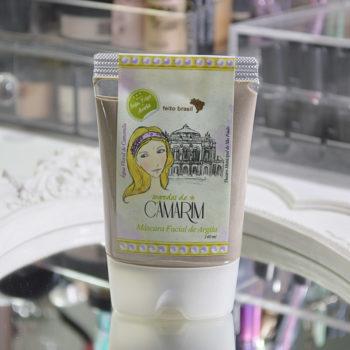 Produtos e Cuidados com a Pele: Máscara Facial de Argila Segredos de Camarim da Feito Brasil