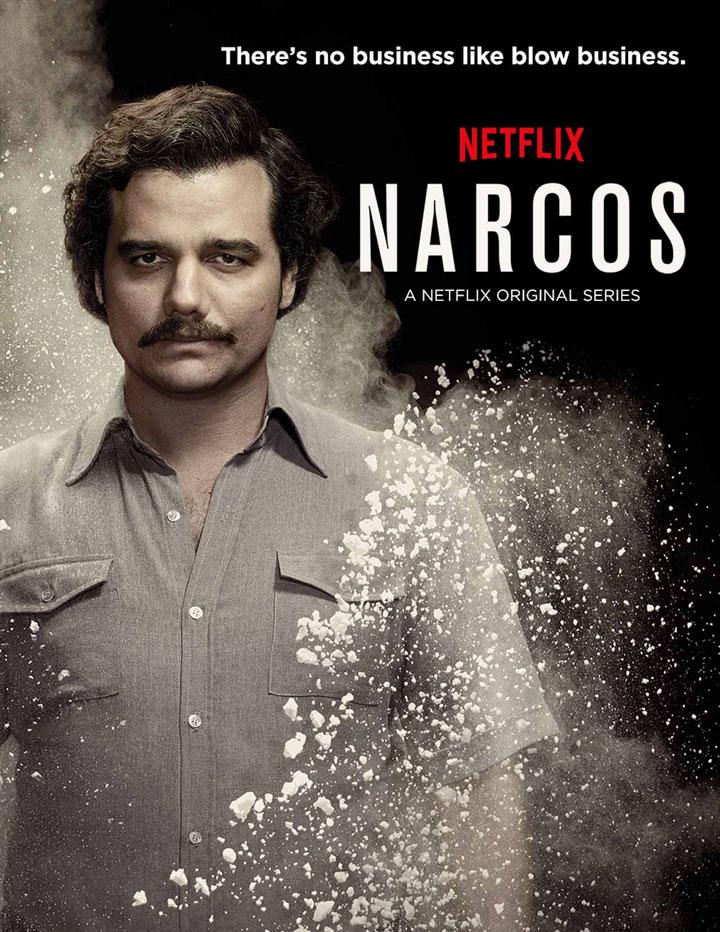 Não é make, mas é demais: Narcos