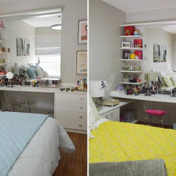 Ap & Decoração: Mudanças no quarto