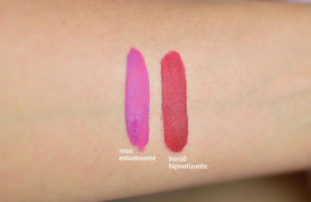 Boca Colorida: Batom de Longa Duração Eudora Lip Deluxe