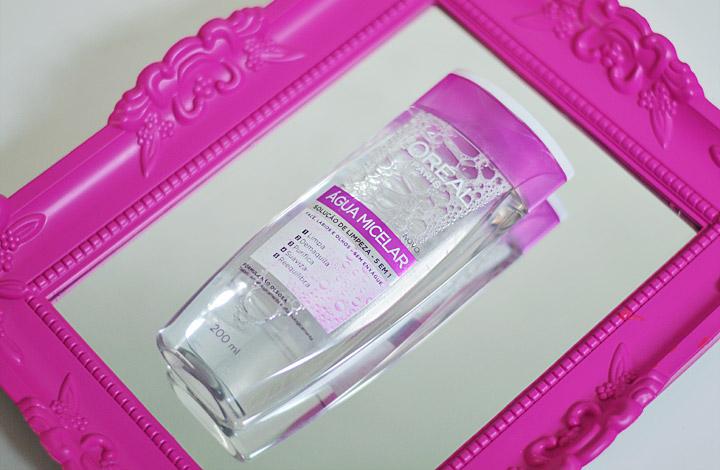 Água Micelar Solução de Limpeza Facial 5 em 1 L'Oréal Paris