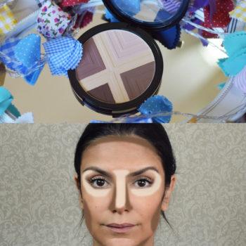 Resenha: Contouring 101 Face Palette Sephora Collection
