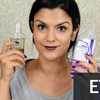 Vídeo: O que estou usando para demaquilar a pele e hidratar rosto, olhos e boca