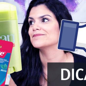 Dicas de Minuto: Mancha de desodorante e problema do zíper