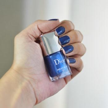Quarta do Esmalte: #791 Darling Blue Dior