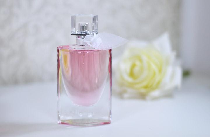 perfume lanc me la vie est belle florale eau de toilette. Black Bedroom Furniture Sets. Home Design Ideas