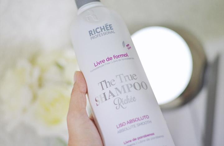 46a7f32a1 Publi: Experimentando Shampoo Alisante Richée com Belíssima Cosméticos