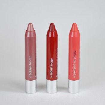 Boca Colorida: Clinique Chubby Stick Intense Moisturizing Lip Colour Balm (cores #13, #14 e #16)