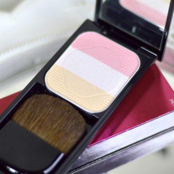 Resenha: Shiseido Face Color Enhancing Trio (cor PK1)