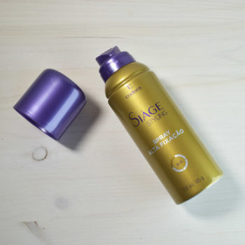 Cabelo: Siàge Styling Spray de Alta Fixação Eudora
