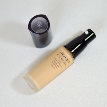 Resenha: Shiseido Synchro Skin Lasting Liquid Foundation SPF 20