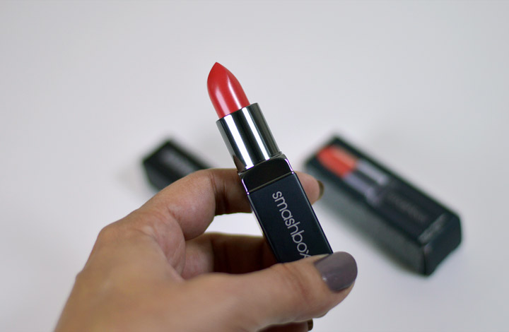 Boca Colorida: Smashbox Be Legendary Lipstick (cor L.A. Sunset)